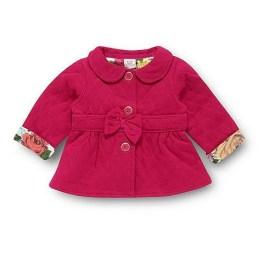 Babies dark pink sweat jacket