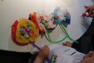 #aocleans - making flowers