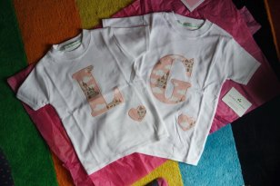 L and G t-shirts