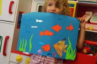Georgie's sea picture
