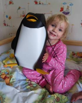 Lydia and the penguin lampshade - valuelights review