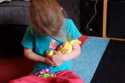 Laa-Laa from the new Teletubbies toy range
