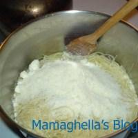 pasta ai 3 formaggi(dieta di mamghella)