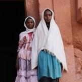 Ethiopian young women in Lalibela
