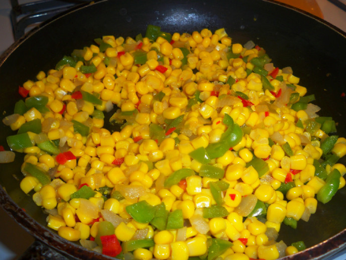 Skillet fried corn with a kick! | Mama Harris' Kitchen