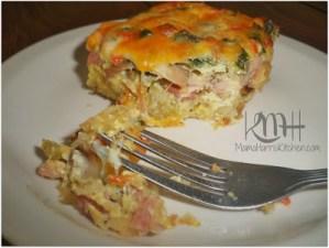 "Savory ""Omelet Inspired"" Breakfast Casserole"