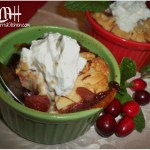 Miniature Cranberry-Pear Cobblers