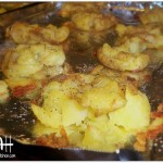 Herb Seasoned Smashed Potatoes