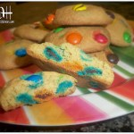 Chewy and Delicious M&M Cookies