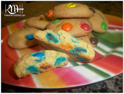 chewy+delicious+m+and+m+cookies