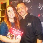 Macy's Culinary Council with Chefs Marc Forgione and Michelle Bernstein in San Francisco TONIGHT!