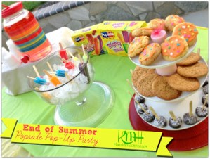 End of Summer Pop-Up Party with Popsicle® – plus a Giveaway!