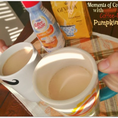 Moments of Connection with Coffee-Mate Pumpkin Spice #loveyourcup