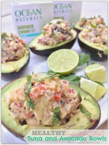 Healthy (and Gluten Free) Tuna & Avocado Bowls