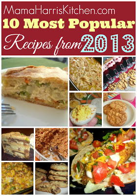 My Most Popular Recipes from 2013