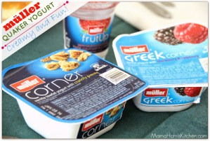 Creamy & Fun, Müller Quaker Yogurt is a new favorite!