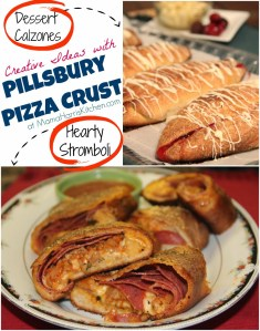 Creative Ideas with Pillsbury Pizza Crust
