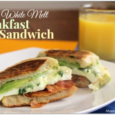 Egg White Melt Breakfast Sandwich