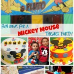 "All About Our ""Two-In-One"" Mickey Mouse Party #DisneySide"