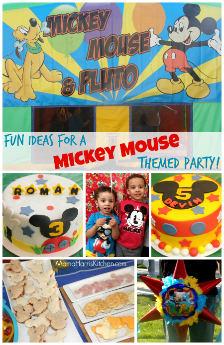 #DisneySide Mickey Mouse Party
