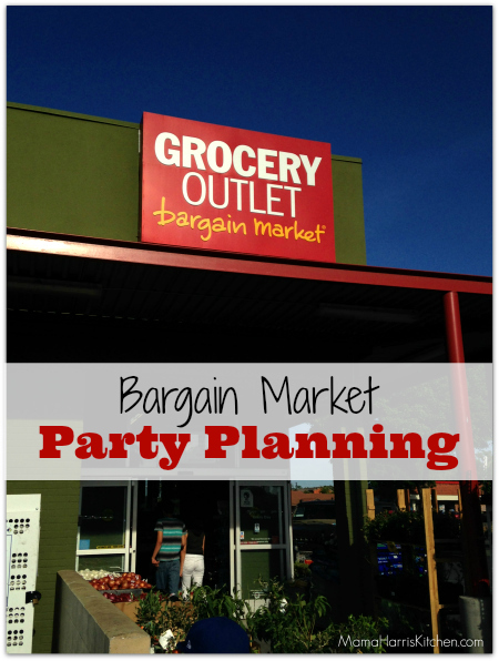 Bargain Market Party Planning