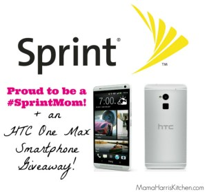 New Partnership with Sprint PLUS an HTC One Max {Giveaway CLOSED}