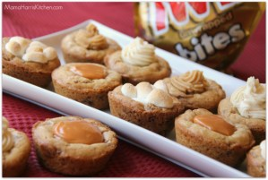 TWIX Cookie Cups with Sweet Filling Options