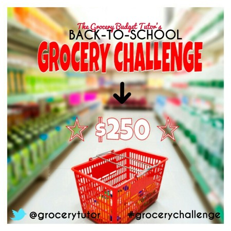 grocery budget tutor grocery challenge