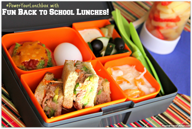 back to school power your lunchbox pledge