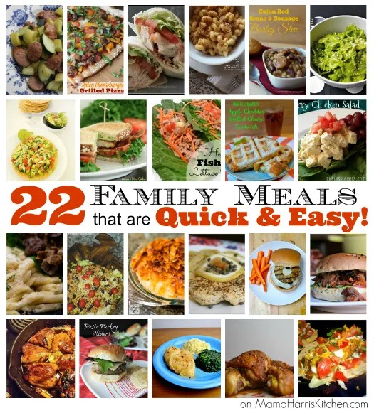 22 Family Meals That Are Quick Easy Mama Harris Kitchen