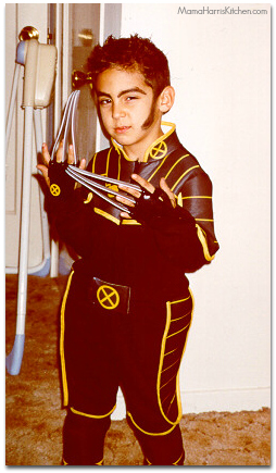 Superhero Wolverine Youth Halloween
