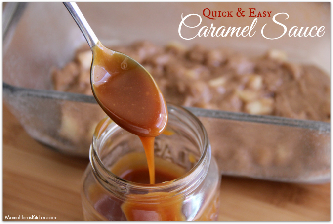 homemade caramel - Mama Harris' Kitchen