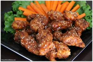 Honey Teriyaki Boneless Chicken Wings