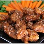 Honey Teriyaki Boneless Chicken Wings