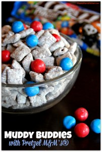 Muddy Buddies with Pretzel M&M's®