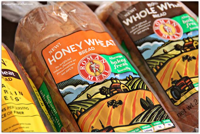 roman meal bread 1