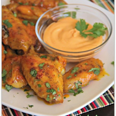 Baked Honey Mustard Wings