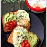 Skinnygirl Hummus Breakfast Toast