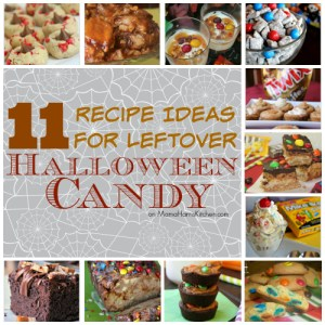 11 Recipe Ideas for Leftover Halloween Candy