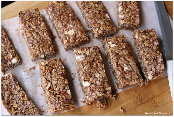 snack time with reese's spreads no bake granola bars #AnySnackPerfect #shop - Mama Harris' Kitchen