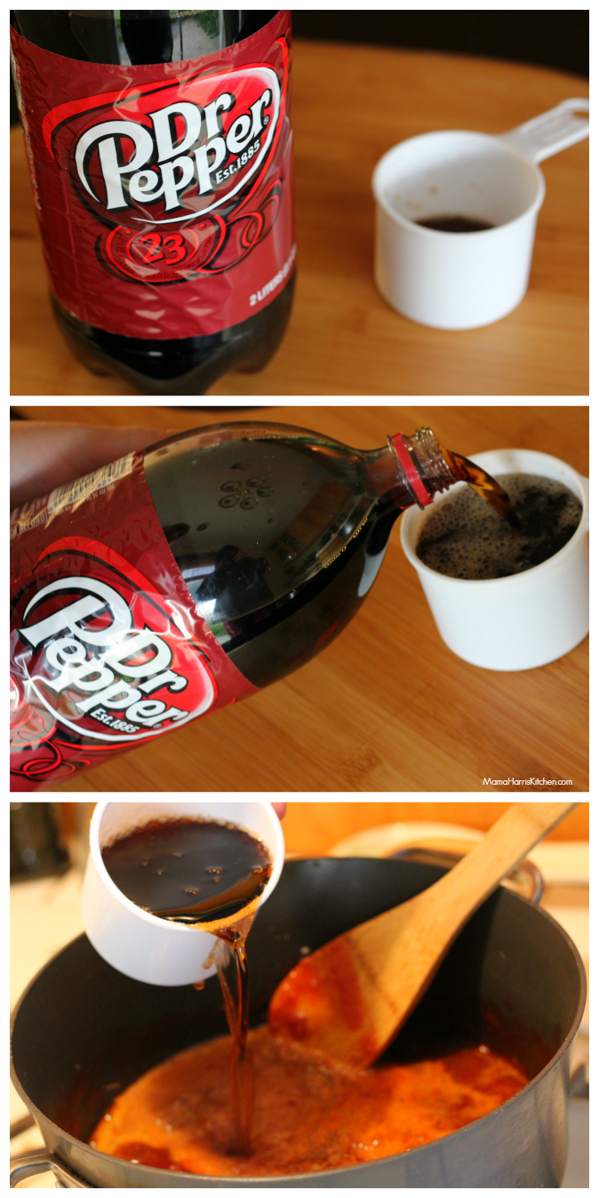 Dr Pepper BBQ Sauce #PassThePepper #ad #cbias - Mama Harris' Kitchen