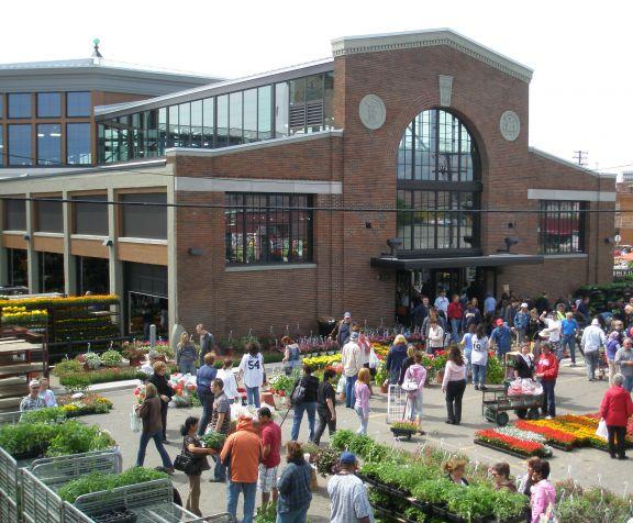 The Eastern Market in Detroit