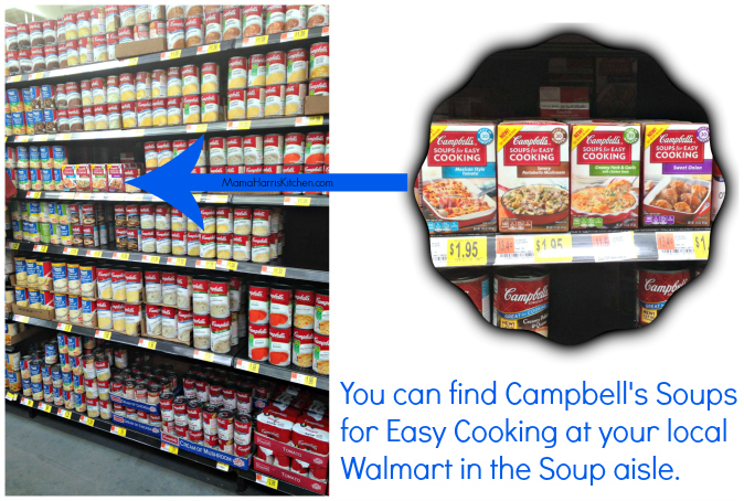 Campbell's Soups for Easy Cooking available at Walmart #WeeknightHero #ad #cbias - Mama Harris' Kitchen