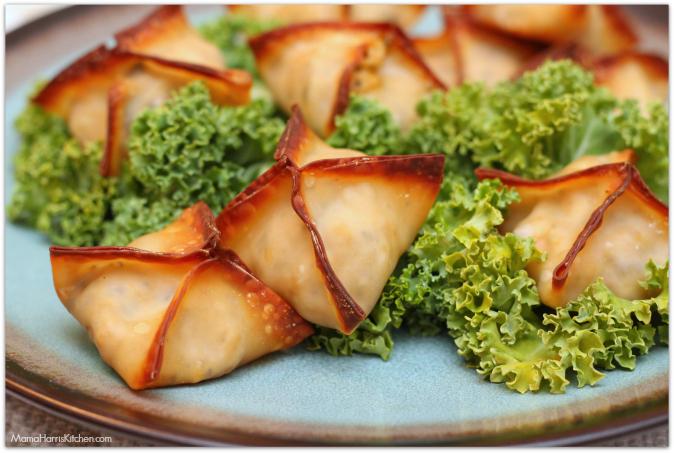 creamy mushroom chicken wonton bites #weeknighthero #ad #cbias - Mama Harris' Kitchen