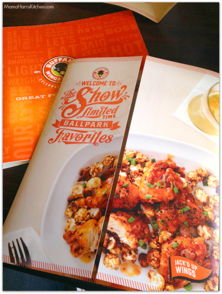 Buffalo Wings and Rings Limited Time Ballpark Favorites Menu #BuffaloWingsAndRings #ad #cbias