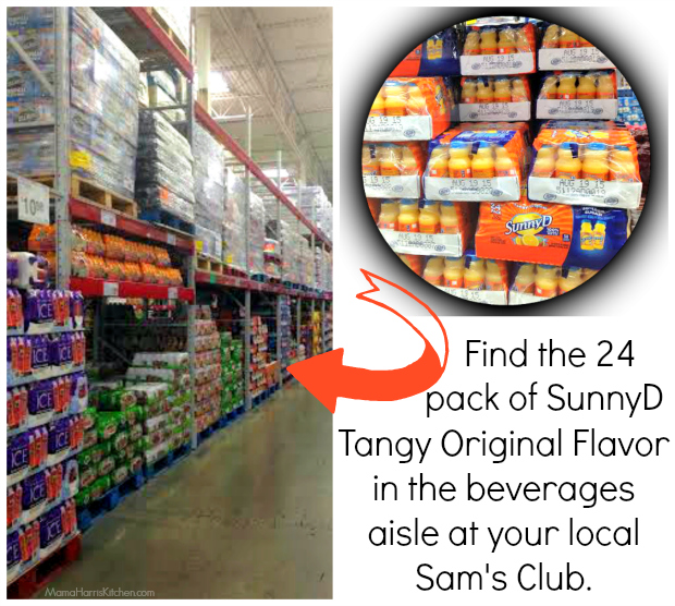 SunnyD at Sam's Club #WhereFunBegins #ad #cbias