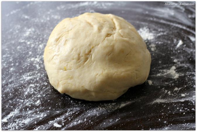 black and blue sweet rolls with lemon glaze   Mama Harris' Kitchen