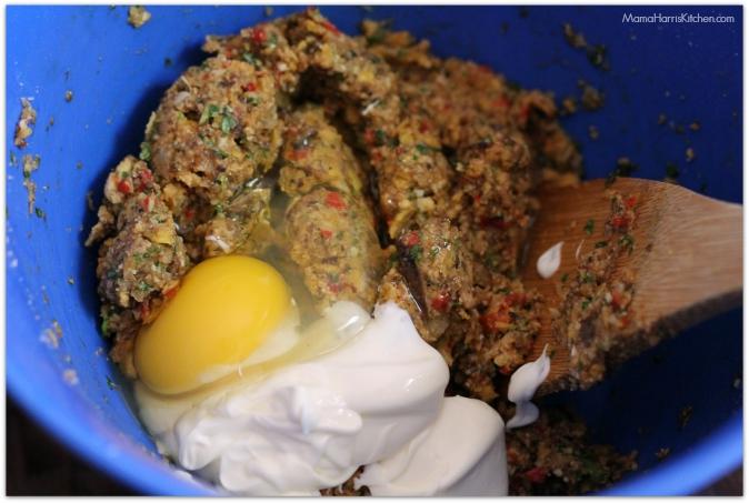 crab stuffed mushrooms - Mama Harris' Kitchen