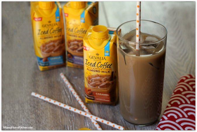 Gevalia Iced Coffee with Almond Milk - a Delicious Summer Treat! #GevaliaIcedCoffee #IC #ad - Mama Harris' Kitchen