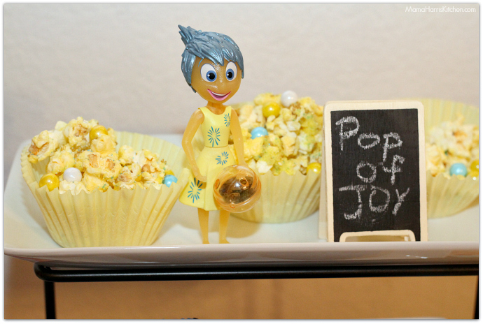 Inside Out Movie Watching Theme Party Food Ideas #InsideOutEmotions #cbias AD   Mama Harris' Kitchen